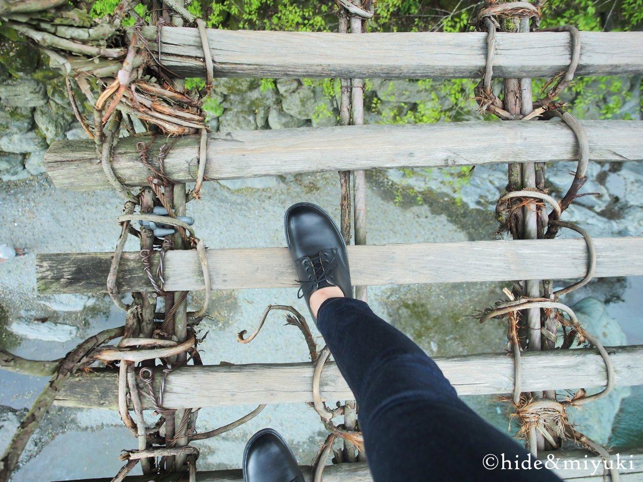 祖谷の かずら橋-1