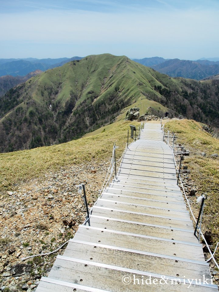剣山山頂からの景色3