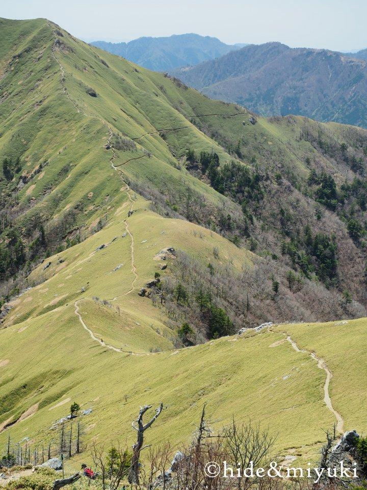 剣山山頂からの景色2
