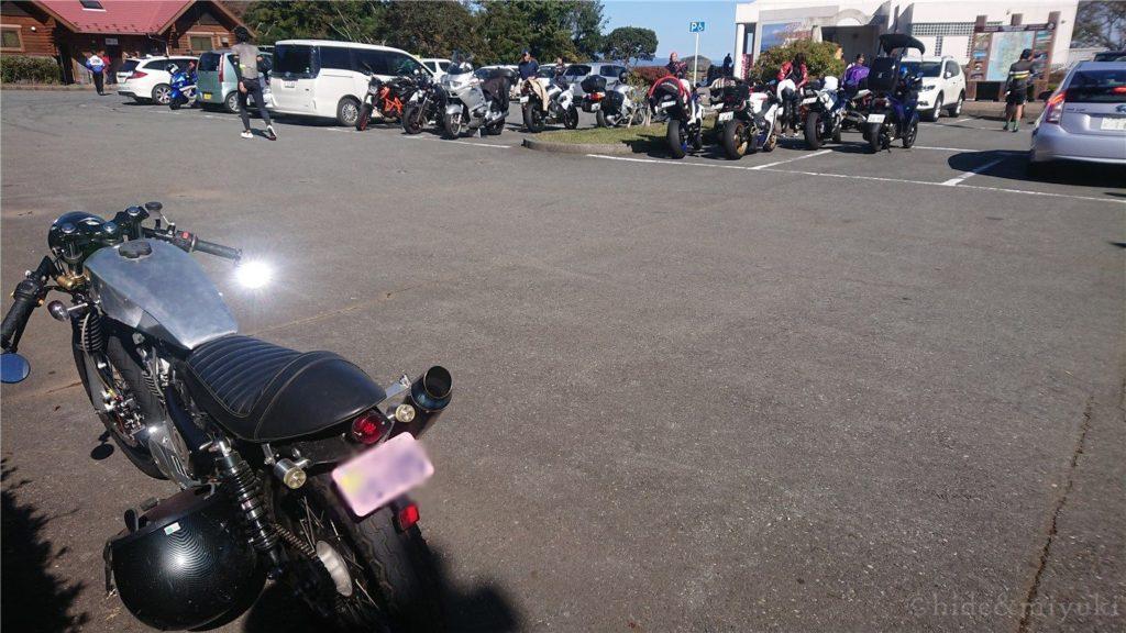 だるま山高原レストハウスの駐車場