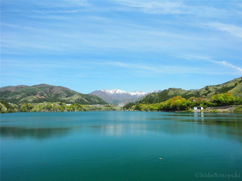 赤谷湖展望台からの景色1