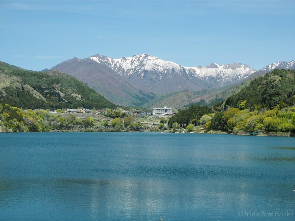 赤谷湖展望台からの景色3