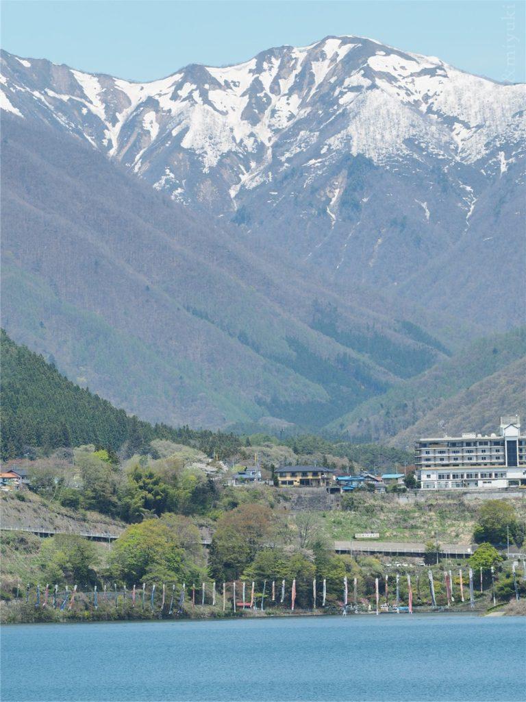 赤谷湖展望台からの景色2