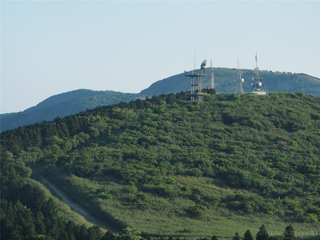 滝知山園地からの写真1