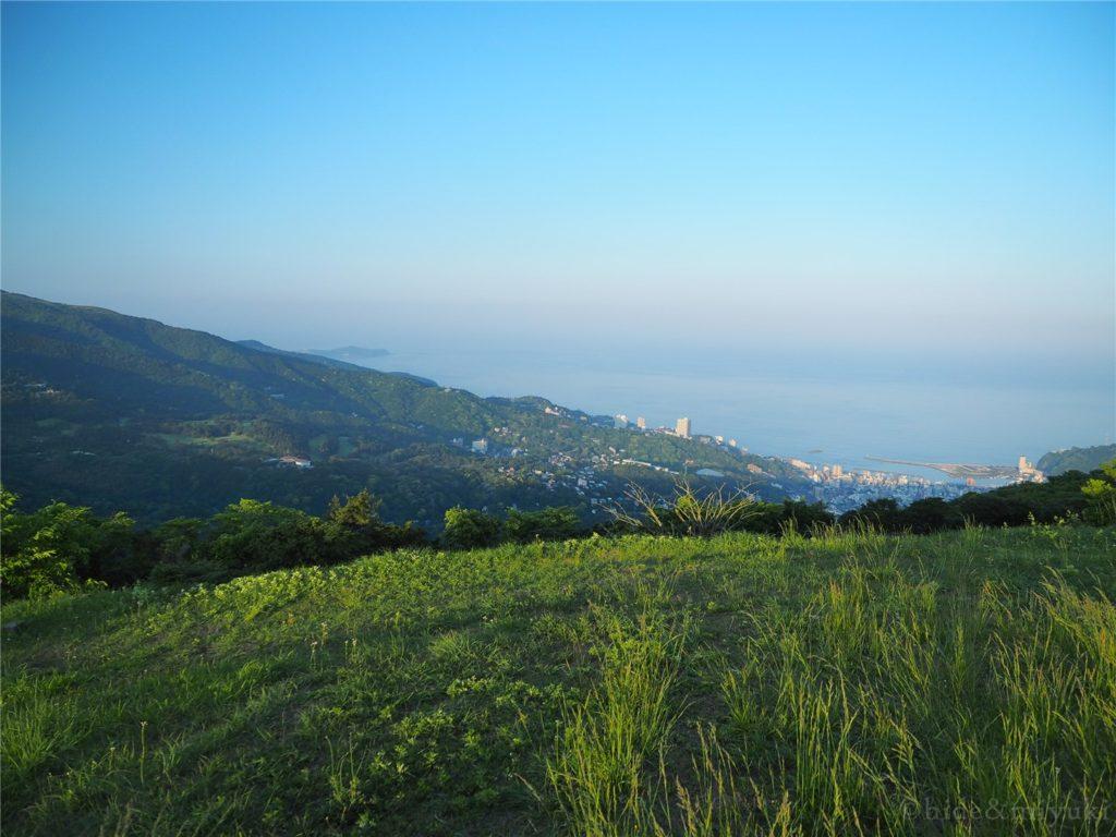 滝知山園地からの写真2