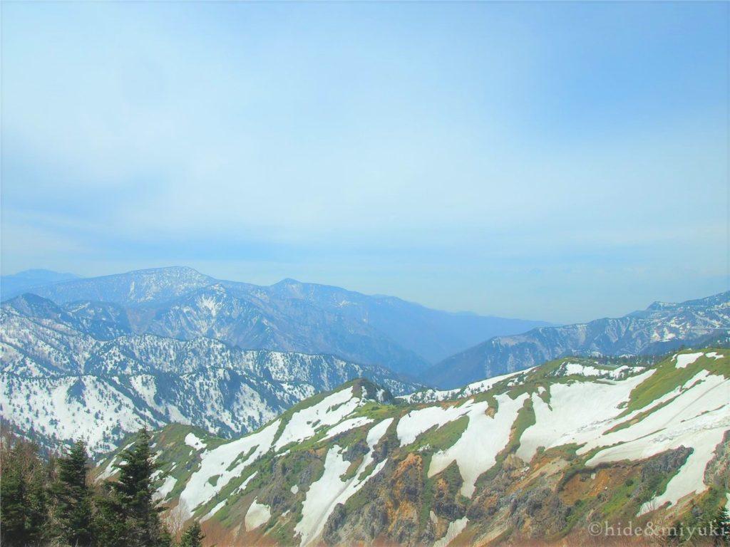 横手山ドライブイン付近からの景色2