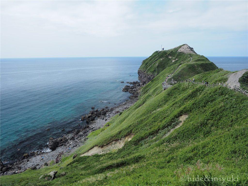 神威岬の個人的クライマックス絶景ポイント周辺2